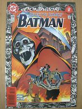 DC COMIC BATMAN No 696 CONTAGION DETECTIVE COMICS BABYLON FALLS APRIL 1996