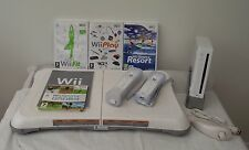 Wii CONSOLE+Wii FIT+76 GAMES INCLUDING A FREE  YEARS WARRANTY