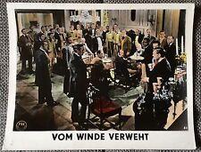 Vom Winde Verweht Clark Gable Vivien Leigh Aushangfoto