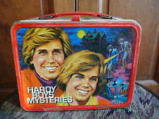 HARDY BOYS MYSTERIES Vintage 1977 UNIVERSAL KING SEELEY THERMOS  METAL LUNCH BOX