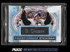 2015 UD The Cup Championship Etchings Sidney Crosby NAMEPLATE /15 #CE-SC (PWCC)