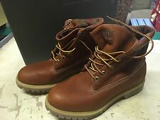 DS MENS TIMBERLAND AF ROLL TOP BOOTS TB09641B BROWN SZ 7 NOBOXLID AIR FREE
