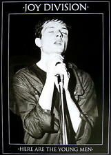 "JOY DIVISION POSTER ""HERE ARE THE YOUNG MEN"""