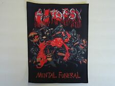 AUTOPSY MENTAL FUNERAL SUBLIMATED BACK PATCH