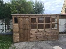 POTTING SHED 12x6 PENT ROOF (WOODEN SHED) (GARDEN SHED) WORKS(HOP) (GREEN HOUSE)