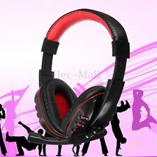 3.5mm Stereo Gaming Headphone Headset with Mic for PS3 PC Computer Laptop Skype