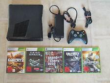 Xbox 360 Konsole Slim 4GB Kinect Ready mit 5 Gratis Spiele + Controller (USK 18)