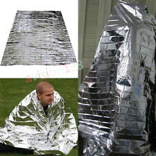 First Aid Survival Rescue Mylar Waterproof Foil Emergency BLANKET Thermal Camp
