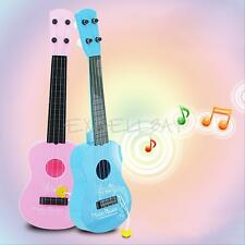 Kids Baby 17'' 4 String Acoustic Guitar Wisdom Development Musical Toy Gift