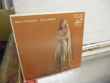 Julie London About The Blues EP 4 Songs 45 RPM Liberty Records VG+