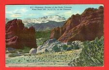 COLORADO - PIKES PEAK, GATEWAY, GARDEN OF THE GODS PC 415