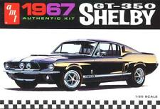AMT 1/25 '67 1967 Shelby GT-350 Mustang Plastic Model Kit #834 Molded in Black