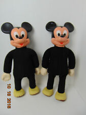 Lot of 2 Vintage Hasbro Marching Mickey Mouse Dolls