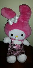 "Build-A-Bear Workshop Stuffed My Melody by Sanrio 18"" Animal Plush hello kitty"