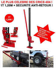 "Indestructible Cric Jack-Farm ""Hi-Lift"" 1,05T 1,20m RAID 4X4 HDJ KDJ PATROL LAND"