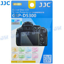 JJC HD Optical Tempered Glass LCD Screen Protector for Nikon D5300 D5500 Camera