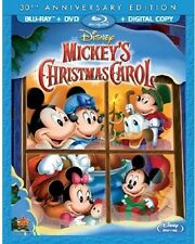 Mickey's Christmas Carol 30th Anniversary - 2 DISC SET (2013, REGION A Blu-ray