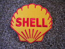 75mm SHELL MOTORING EMBROIDERED PATCH