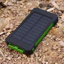 300000mAh Dual USB Portable Solar Battery Charger Solar Power Bank For Phone KG
