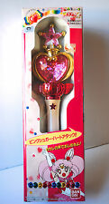 Sailor Moon Super Chibi-usa Chibi Moon Pink sugar heart Moon stick rod wand