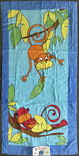 Monkey Business - Beach Towel 60 x 120cm - by Squirt Great Gift Idea!