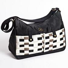 Caboodle Baby Nappy Changing Change Bag Pisa Black & White New