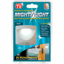 MIGHTY LIGHT INDOOR OUTDOOR MOTION SENSOR ACTIVATED EMERGENCY LED LIGHT STEPS