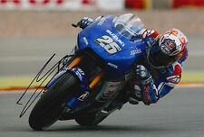 Maverick Vinales Hand Signed Suzuki Ecstar 12x8 Photo 2015 MotoGP 2.