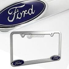 Ford Chrome Metal License Plate Frame Officially Licensed NEW!!
