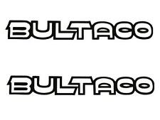 Bultaco Tank Transfers and Decals Sold as a Pair Montesa White/Black
