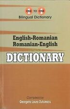 English-Romanian & Romanian-English One-to-One Dictionary (exam suitable), G.L.,