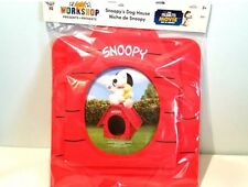 New PEANUTS MOVIE BUILD-A-BEAR Red Baron Snoopy Fifi House Flying Doghouse RARE