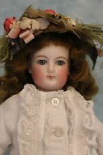 "13"" Beautiful Antique French Fashion Doll FG by Francois Gaultier Size 1 c.1880"