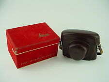 Leica Leather Case & Red Velvet Box - IGEMO for Leica Leitz M3