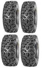 "KENDA BEAR CLAW HTR RADIAL ATV 2 - 25X8 R-12 & 2 - 25X10 R-12 SET OF 4 25"" TIRES"