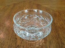 """Waterford Crystal Candy Dish, Comeragh Pattern, Footed, 5 1/4"""" Diameter"""