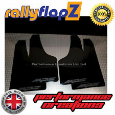 Rally Mudflaps MAZDA 3 MPS (07-09) Mk1 Mud Flaps Black Logo Matt Black 4mm PVC