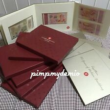 UNC Singapore SG50 Commemorative Bank Notes Boxset Folder Golden Jubilee LKY