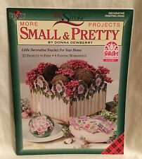 Plaid One Stroke Painting Book Donna Dewberry More Small & Pretty Projects #9546
