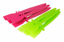 10 Pink/Green Plastic Glue Spreaders Craft Paste PVA Spreader Spatula S7300