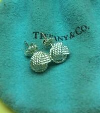 Authentic Tiffany & Co NWT Twist Knot Stud Earrings