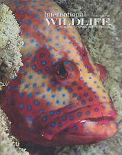 INTERNATIONAL WILDLIFE Jul/Aug 1990 Magazine Back Issue CORAL GROUPER FIJI