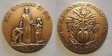 medaglia ordine ospedaliero fatebenefratelli San Giovanni di Dio