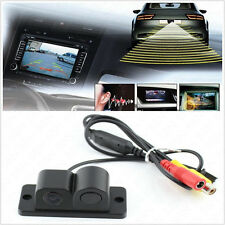 120° Wide Angle Radar Sensor Autos Off-Road Reversing Backup HD Camera For Jeep