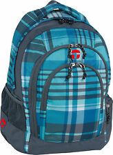 Take it Easy Schulrucksack Berlin Atlantic blau TIE Rucksack