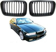 BLACK BONNET GRILLS FOR BMW E36 PRE-FACELIFT SALOON COMPACT COUPE & CONVERTIBLE