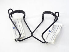 American Classic Bicycle Water Bottle cage PAIR Black Aluminum USA Vintage NOS