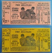 ♫ THE BEATLES 1965 Concert and Movie Premier Repo Tickets 10 different tickets ♫