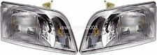 VOLVO VN VNL VNM  HEADLIGHTS HEAD LIGHTS PAIR LAMPS NEW 1996-2003 1997 1998 1999