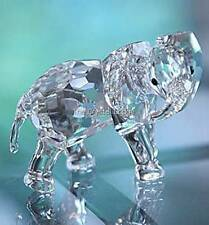 SWAROVSKI CRYSTAL LITTLE ELEPHANT 674587 MINT BOXED RETIRED RARE